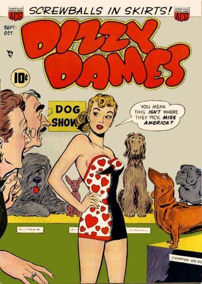 Cover for Dizzy Dames (American Comics Group, 1952 series) #1