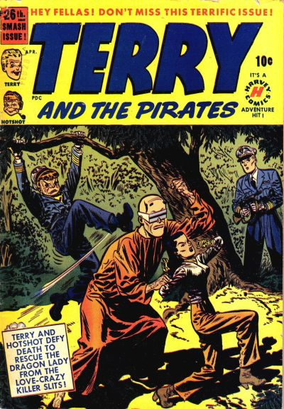 Cover for Terry and the Pirates Comics (Harvey, 1947 series) #26