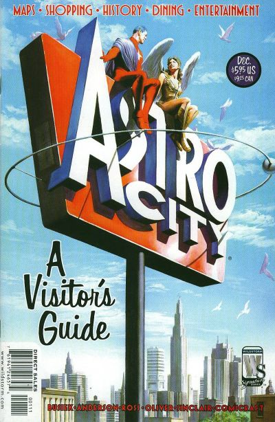 Cover for Astro City A Visitors Guide (DC, 2004 series)