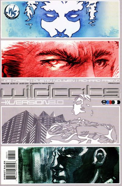 Cover for Wildcats Version 3.0 (DC, 2002 series) #6