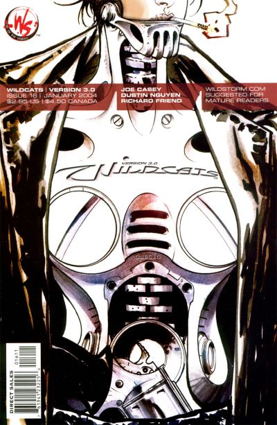 Cover for Wildcats Version 3.0 (DC, 2002 series) #16