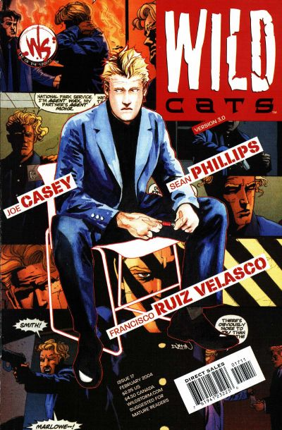 Cover for Wildcats Version 3.0 (DC, 2002 series) #17
