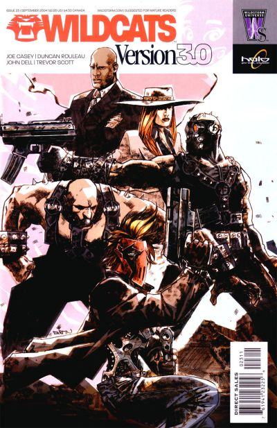 Cover for Wildcats Version 3.0 (DC, 2002 series) #23