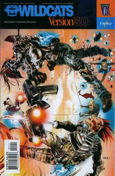 Cover for Wildcats Version 3.0 (DC, 2002 series) #24