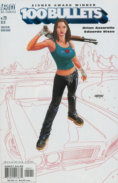 Cover for 100 Bullets (DC, 1999 series) #29
