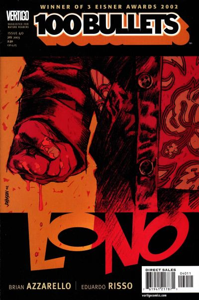 Cover for 100 Bullets (DC, 1999 series) #40