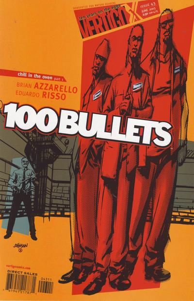 Cover for 100 Bullets (DC, 1999 series) #43