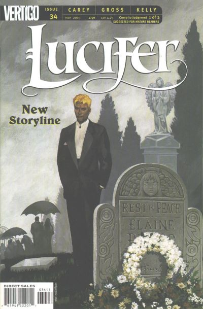 Cover for Lucifer (DC, 2000 series) #34