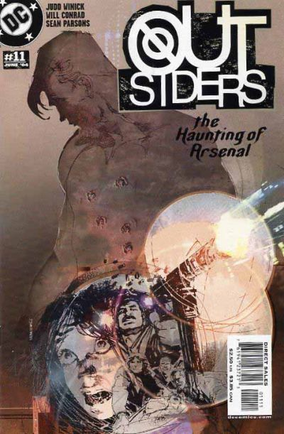 Cover for Outsiders (DC, 2003 series) #11