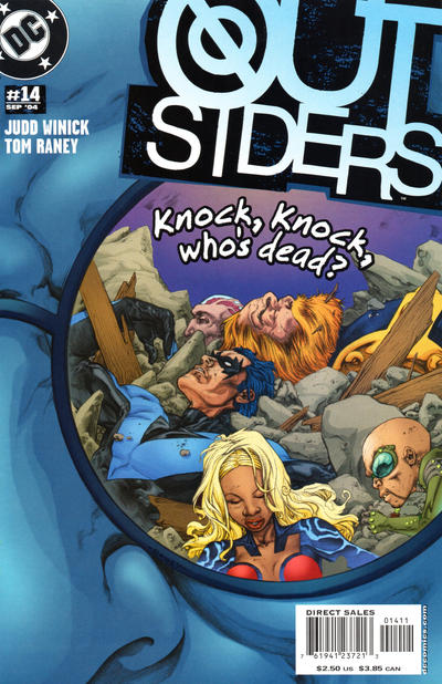 Cover for Outsiders (DC, 2003 series) #14