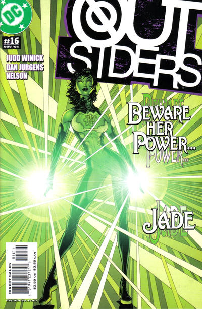 Cover for Outsiders (DC, 2003 series) #16