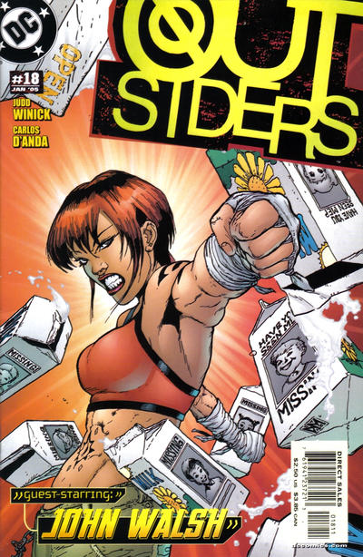 Cover for Outsiders (DC, 2003 series) #18