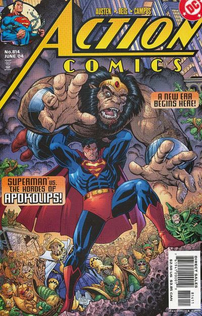 Cover for Action Comics (DC, 1938 series) #814 [Direct Sales]