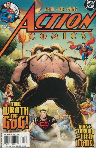 Cover for Action Comics (DC, 1938 series) #815 [Direct Sales]