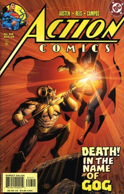 Cover for Action Comics (DC, 1938 series) #816