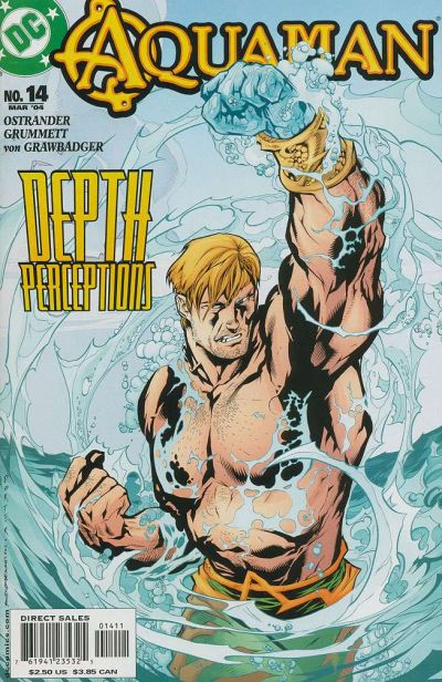 Cover for Aquaman (DC, 2003 series) #14