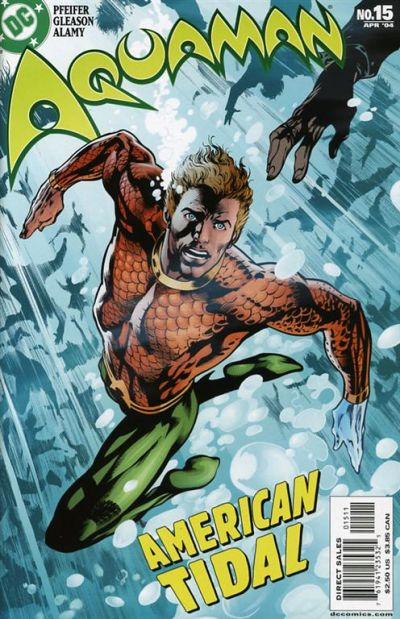Cover for Aquaman (DC, 2003 series) #15