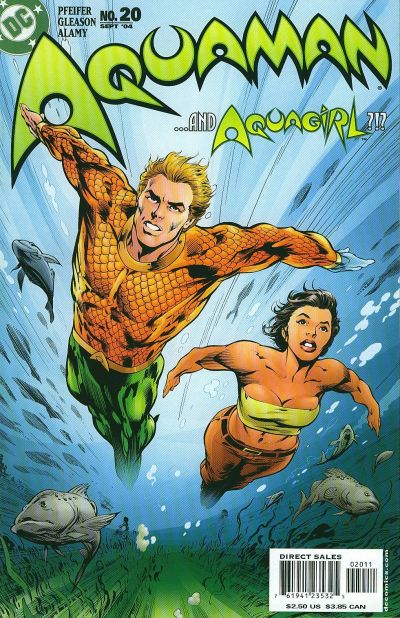 Cover for Aquaman (DC, 2003 series) #20