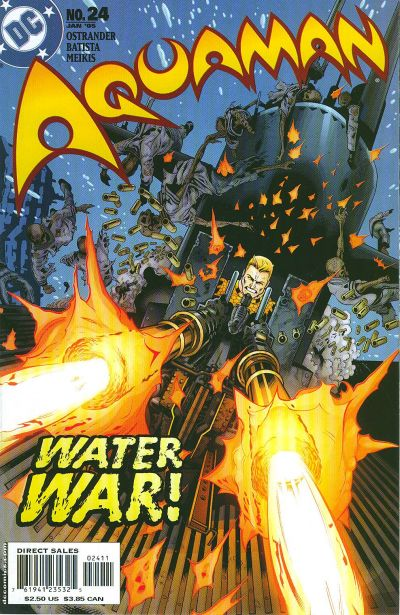 Cover for Aquaman (DC, 2003 series) #24