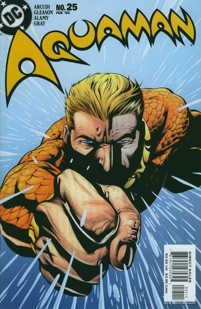 Cover for Aquaman (DC, 2003 series) #25