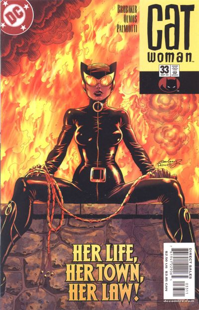 Cover for Catwoman (DC, 2002 series) #33 [Newsstand]