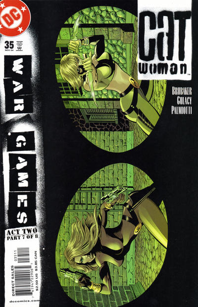 Cover for Catwoman (DC, 2002 series) #35