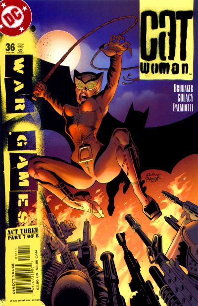 Cover for Catwoman (DC, 2002 series) #36 [Direct Sales]