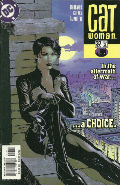 Cover for Catwoman (DC, 2002 series) #37