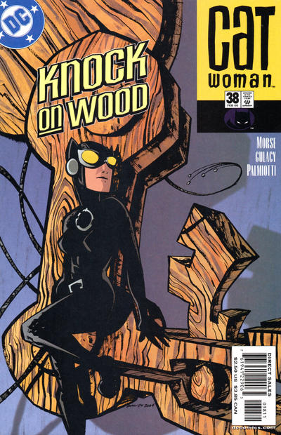 Cover for Catwoman (DC, 2002 series) #38