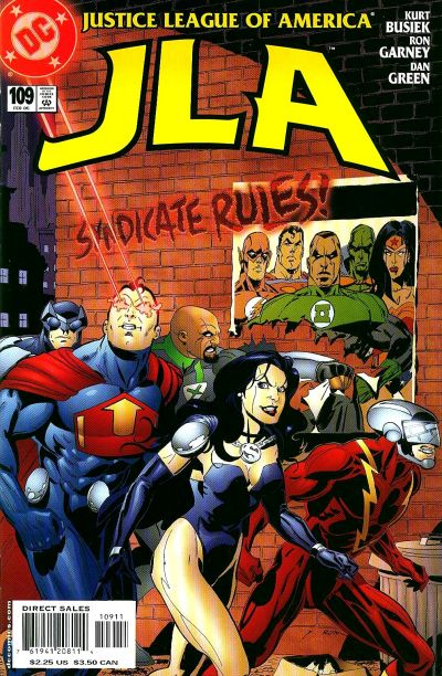 Cover for JLA (DC, 1997 series) #109