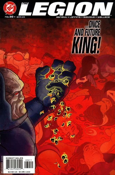 Cover for The Legion (DC, 2001 series) #30