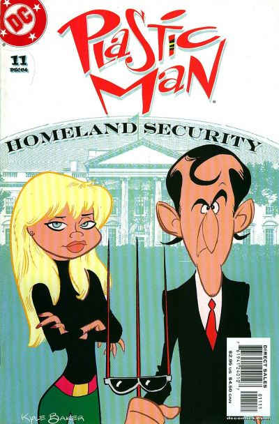 Cover for Plastic Man (DC, 2004 series) #11