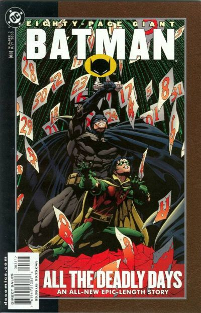 Cover for Batman 80-Page Giant (DC, 1998 series) #3