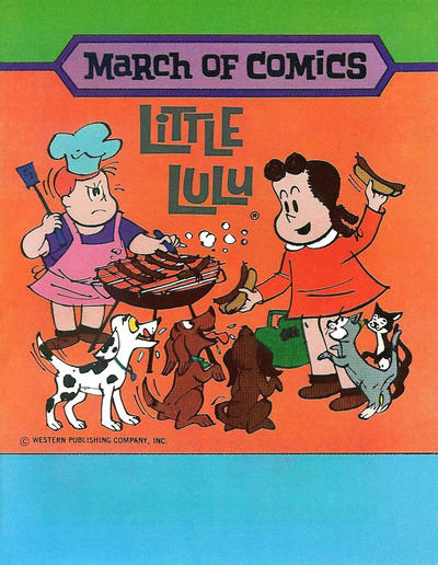 Cover for March of Comics (Western, 1946 series) #417