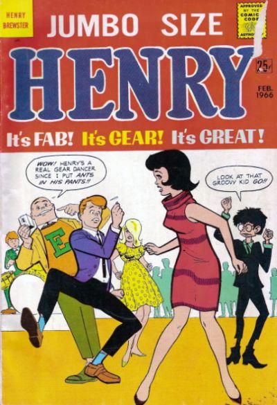 Cover for Henry Brewster (M.F. Enterprises, 1966 series) #1