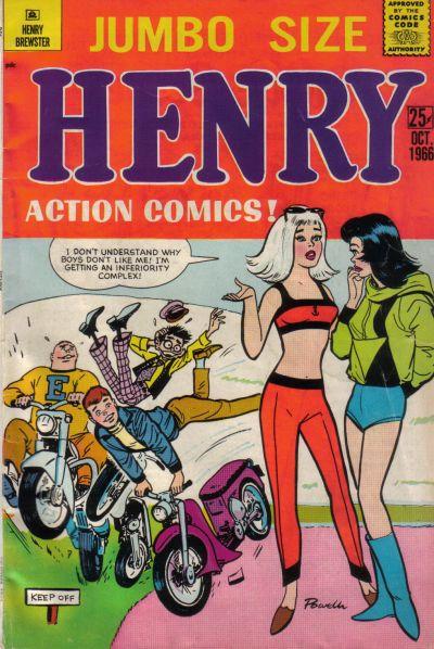 Cover for Henry Brewster (M.F. Enterprises, 1966 series) #5