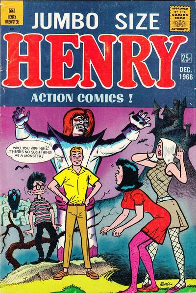 Cover for Henry Brewster (M.F. Enterprises, 1966 series) #6