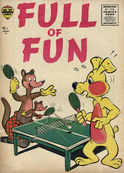 Cover for Full of Fun (Decker, 1957 series) #1
