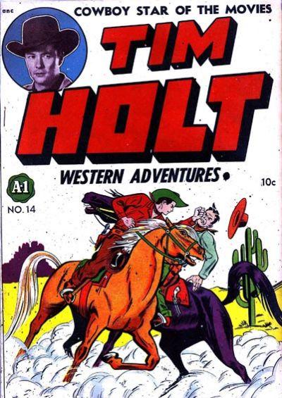 Cover for Tim Holt (Magazine Enterprises, 1948 series) #1 [A-1 #14]