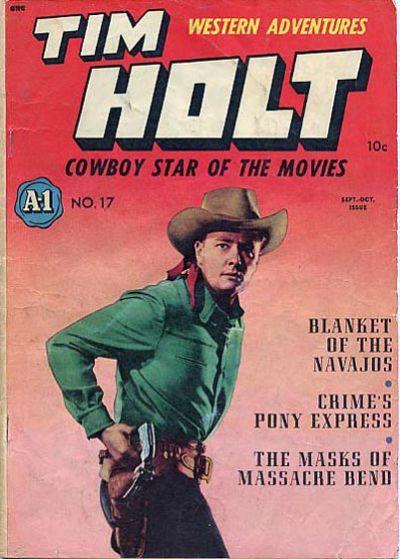 Cover for Tim Holt (Magazine Enterprises, 1948 series) #2 [A-1 #17]