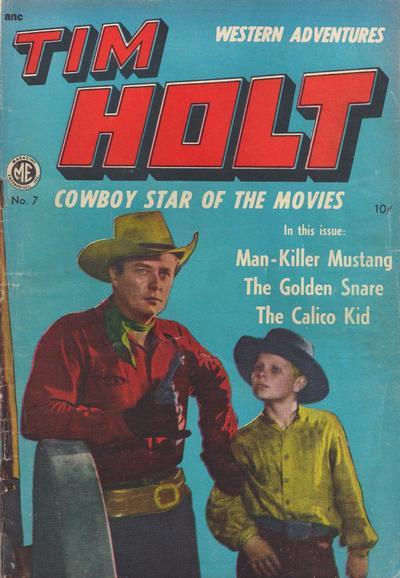Cover for Tim Holt (Magazine Enterprises, 1948 series) #7