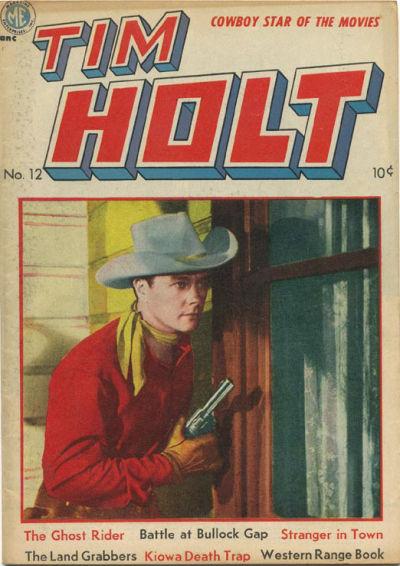 Cover for Tim Holt (Magazine Enterprises, 1948 series) #12