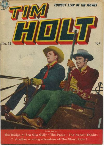 Cover for Tim Holt (Magazine Enterprises, 1948 series) #14