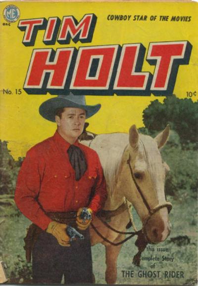 Cover for Tim Holt (Magazine Enterprises, 1948 series) #15