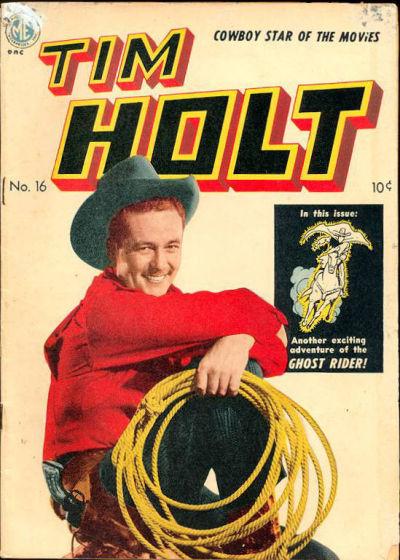 Cover for Tim Holt (Magazine Enterprises, 1948 series) #16