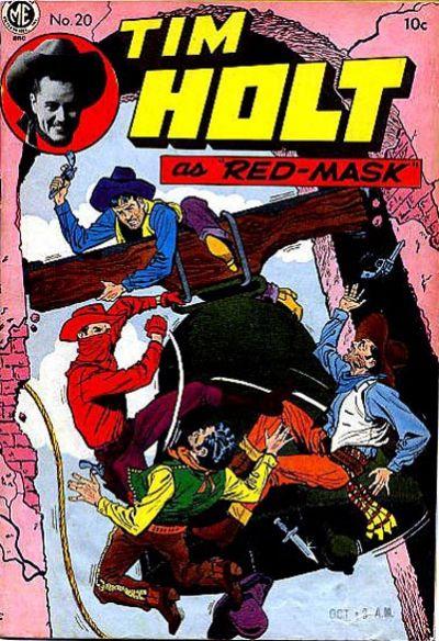 Cover for Tim Holt (Magazine Enterprises, 1948 series) #20