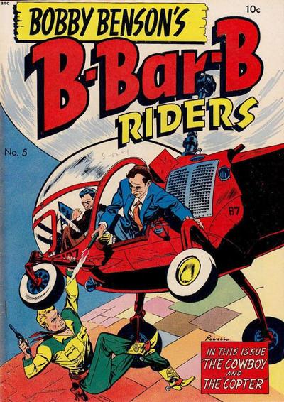 Cover for Bobby Benson's B-Bar-B Riders (Magazine Enterprises, 1950 series) #5