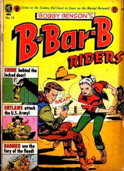 Cover for Bobby Benson's B-Bar-B Riders (Magazine Enterprises, 1950 series) #12