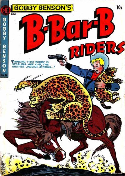 Cover for Bobby Benson's B-Bar-B Riders (Magazine Enterprises, 1950 series) #17