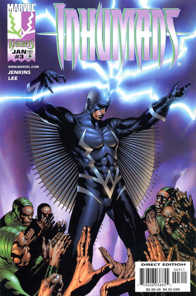 Cover for Inhumans (Marvel, 1998 series) #3